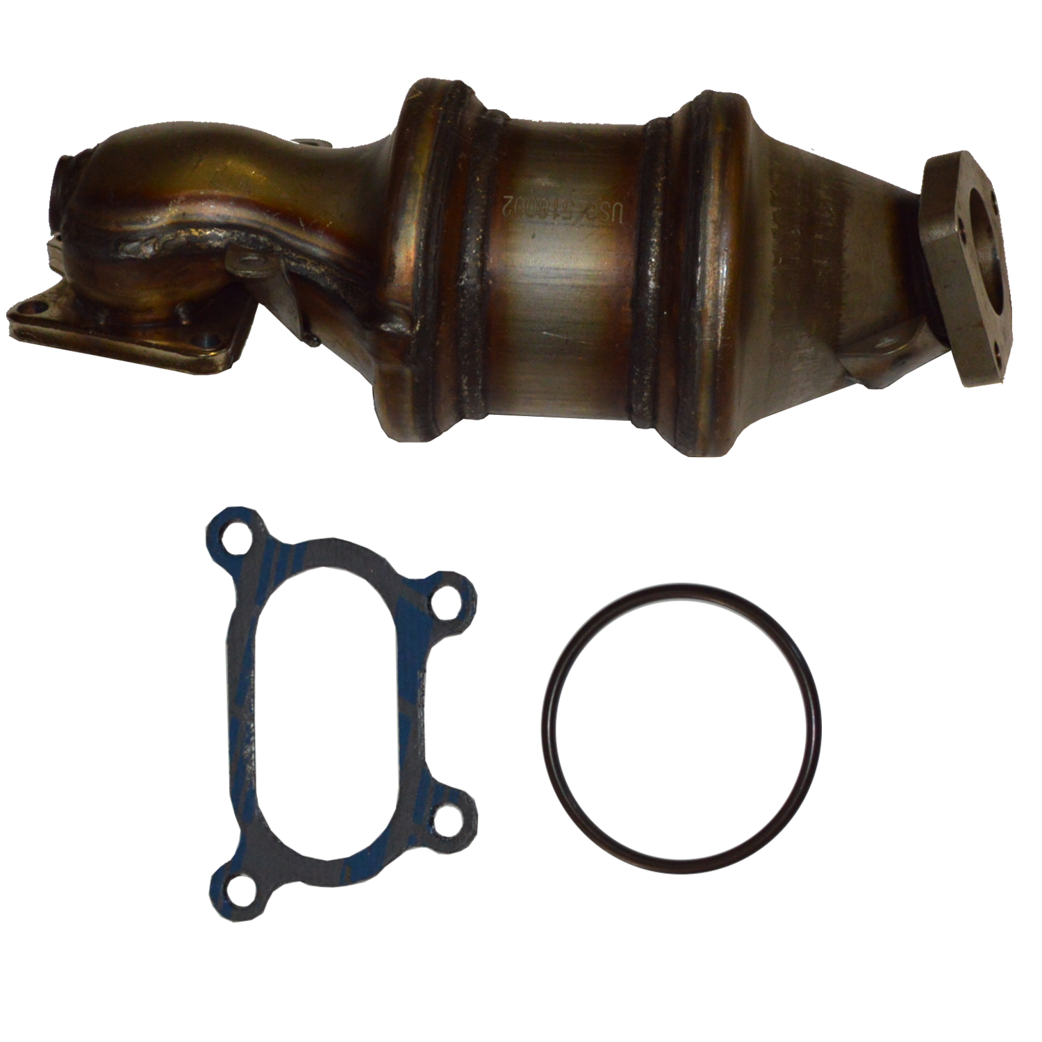 03  -10 Acura Honda Saturn 3.5 L Integrated Manifold Catalytic Converter FL
