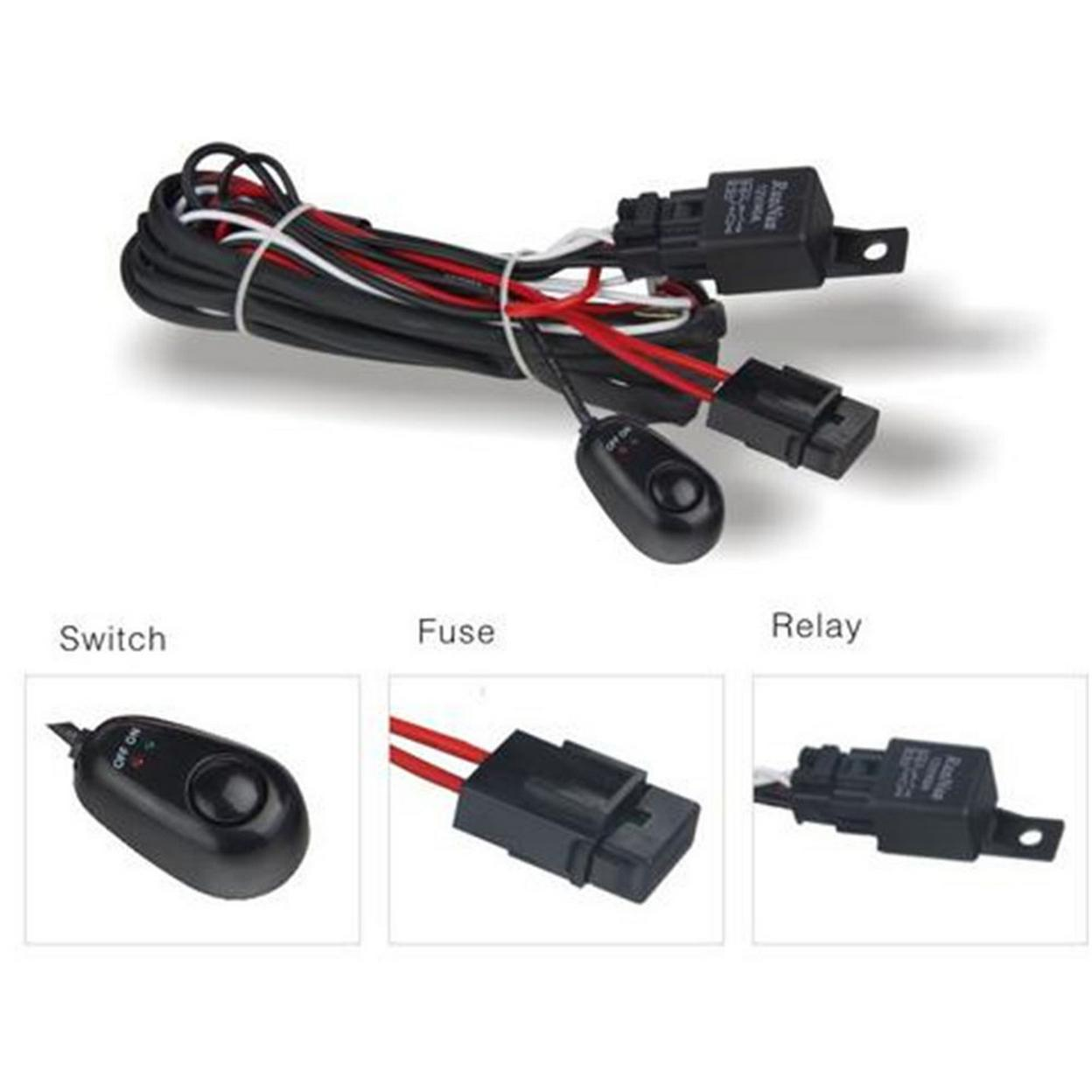 DV8 Offroad WIRE HARNESS LED Wiring Harness