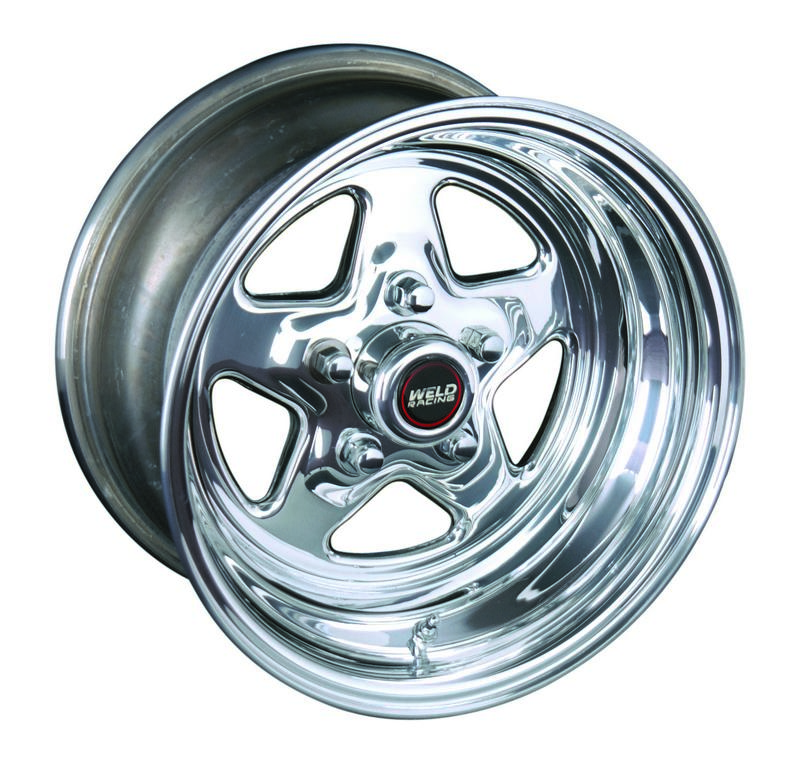 WELD Street & Strip 96-59280 15X9'' Polished Prostar 5X4.75'' Bolt Pattern 5.5'' Backspace