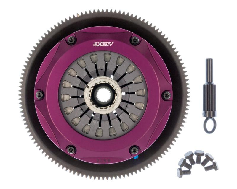 EXEDY Racing Clutch ZM023SR Hyper Triple Cerametallic Clutch