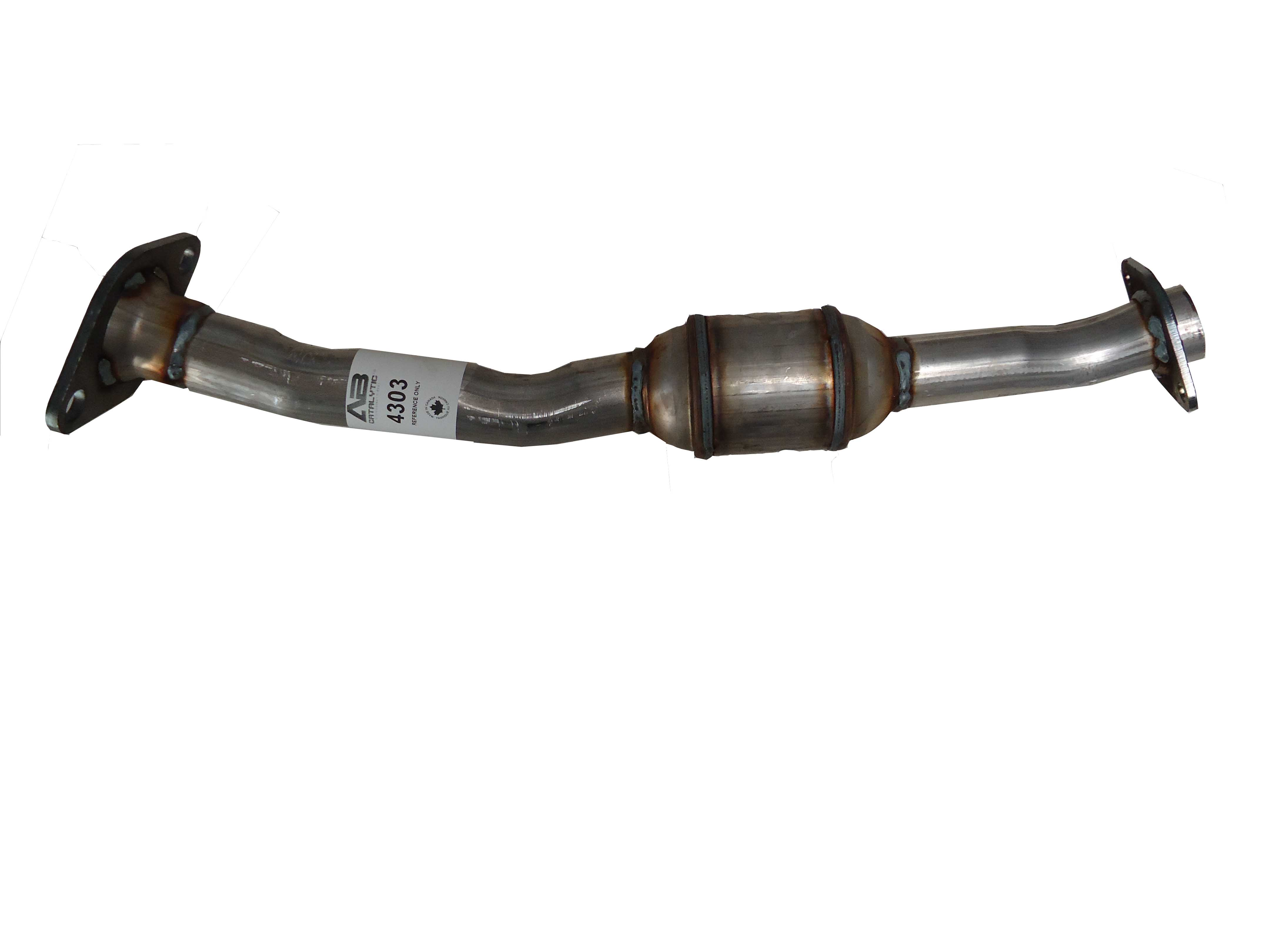 4303 Direct Fit  Front Catalytic Converter (Non C.A.R.B. Compliant)