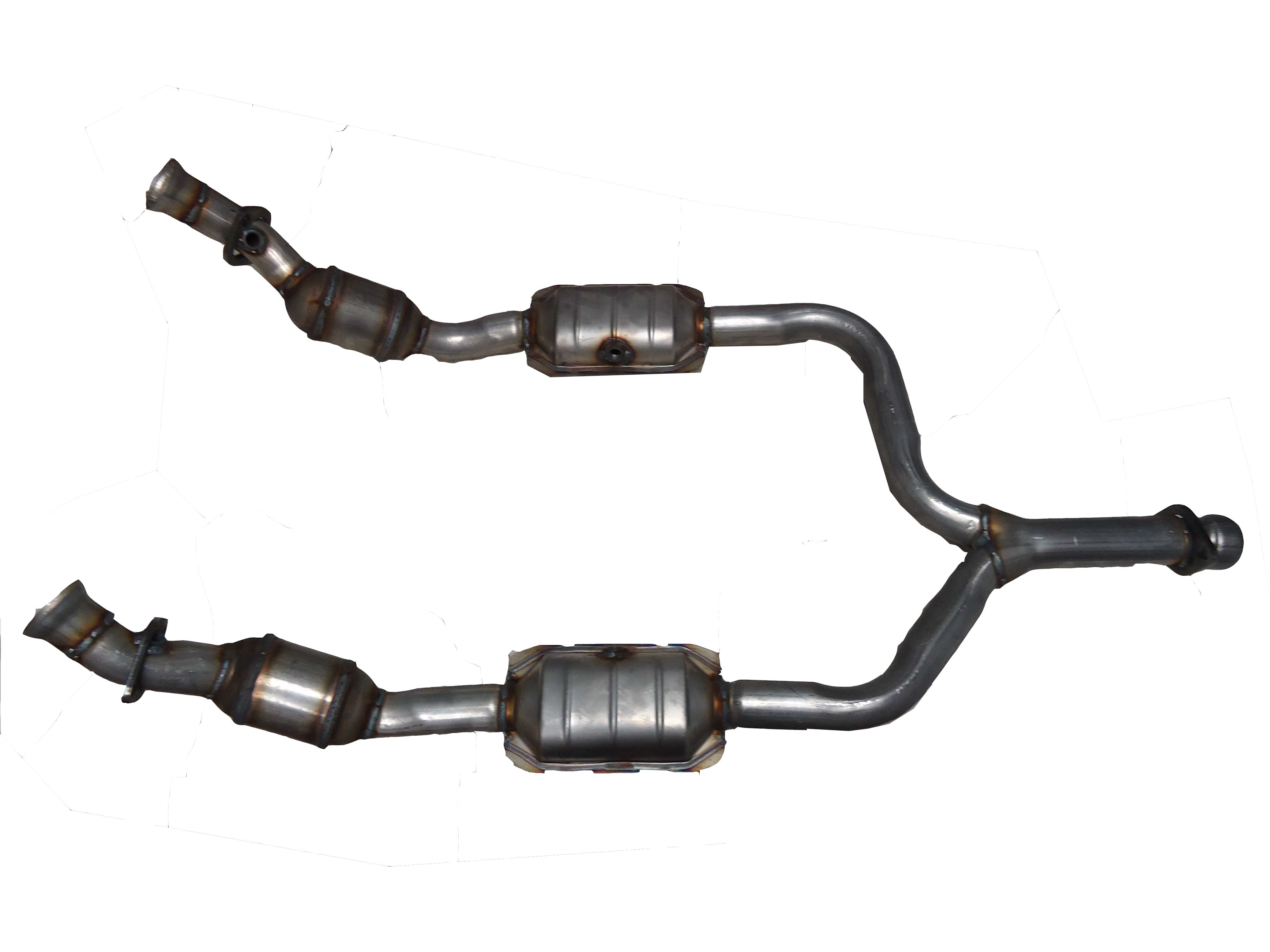 Direct-Fit Catalytic Converter Y-Pipe  (Non C.A.R.B. Compliant)