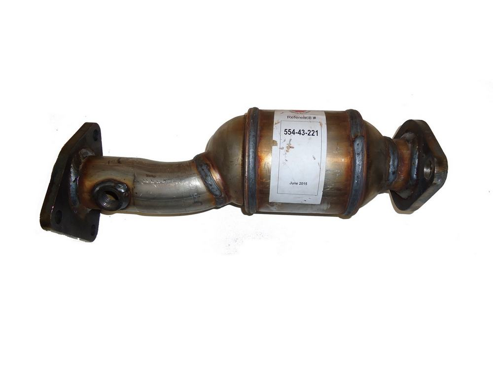 AB Catalytic Direct-Fit Catalytic Converter (Non C.A.R.B. Compliant) Passenger Side