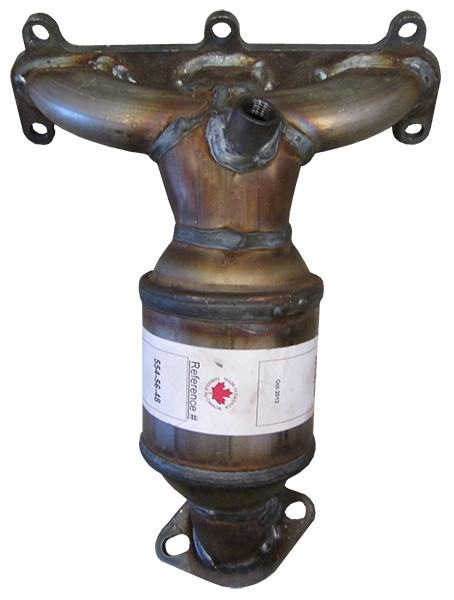 AB Catalytic Direct Fit Catalytic Converter left / Rad Side (Non C.A.R.B. Compliant)