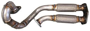 AB Catalytic Exhaust Pipe