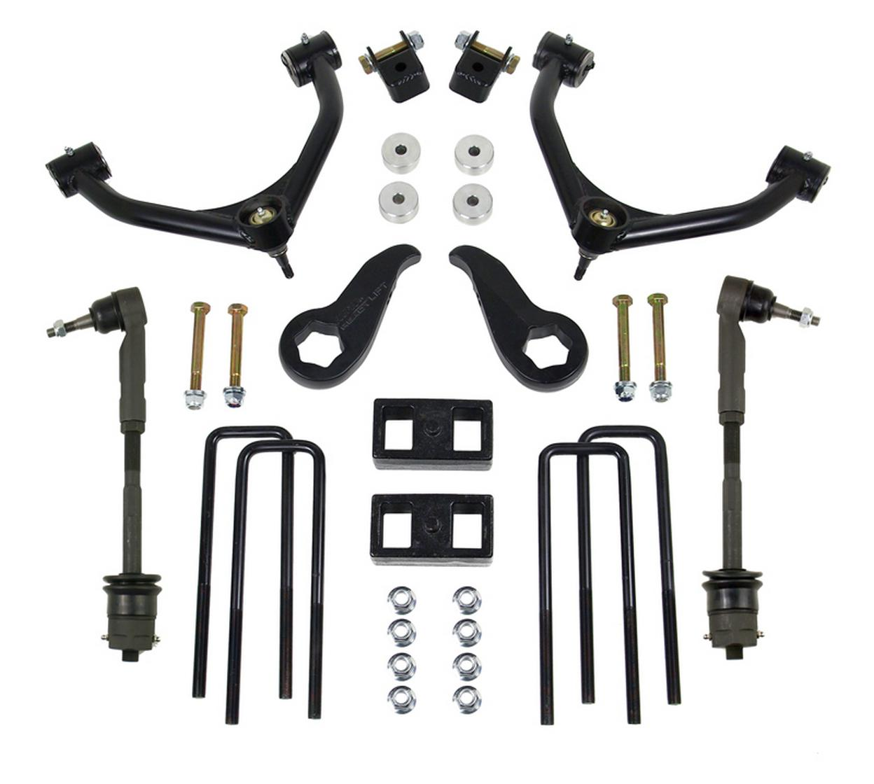 2011-18 CHEV/GMC 2500/3500HD 3.5'' Front with 2.0'' Rear SST Lift Kit