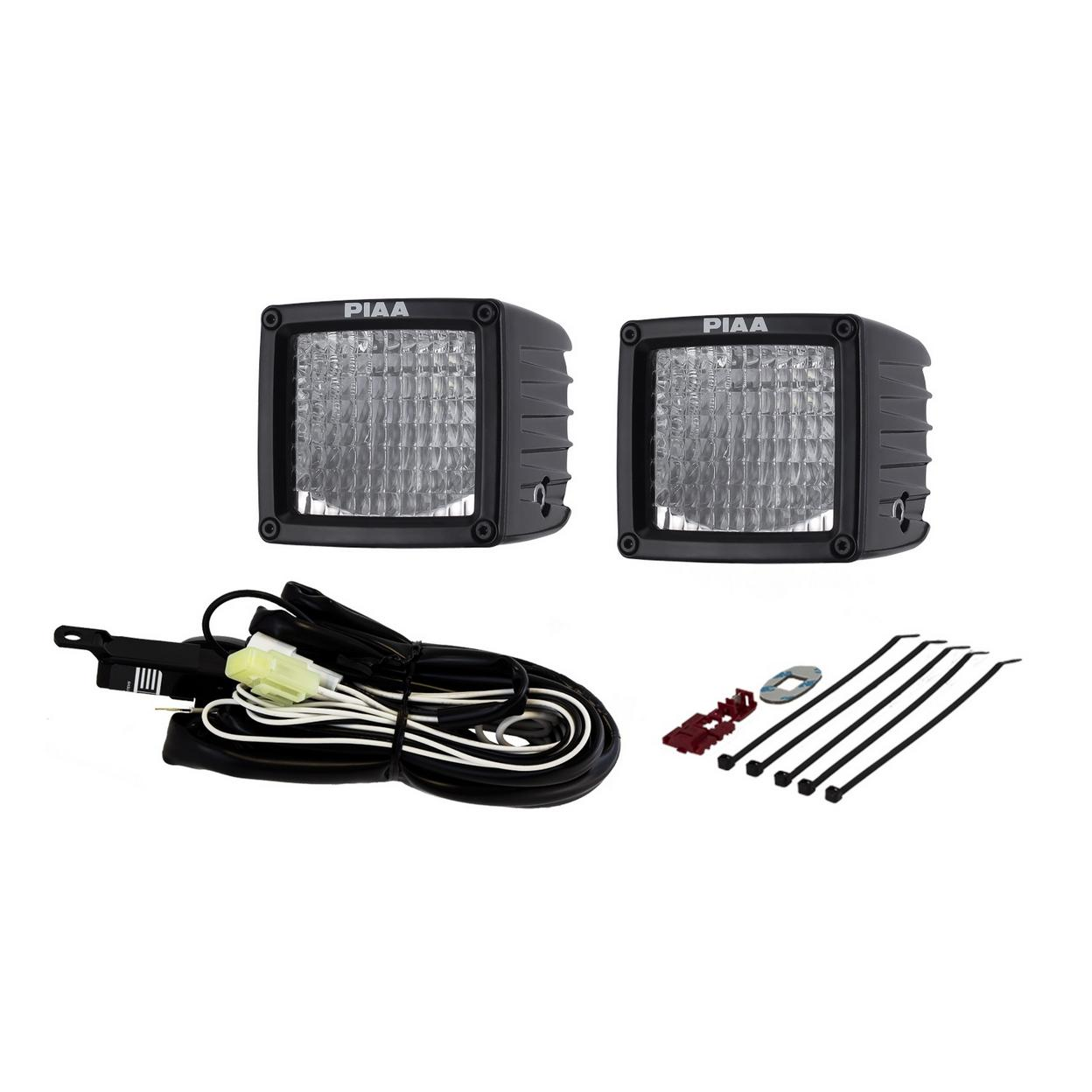 RF SERIES 3IN. LED CUBE LIGHT FLOOD BEAM KIT