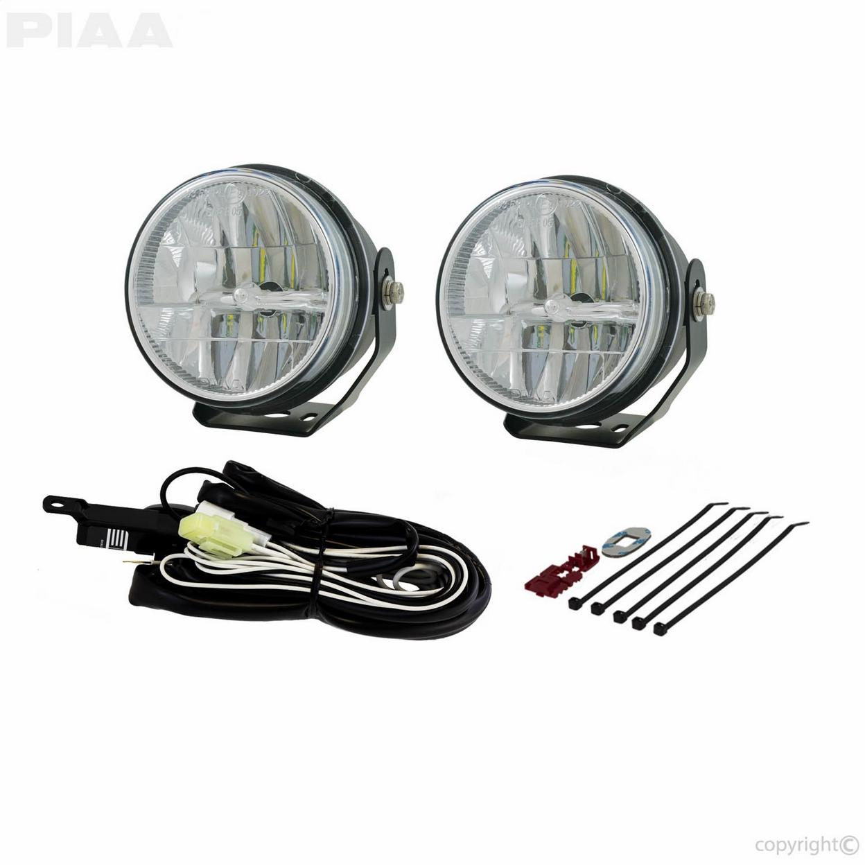 LP530 3.5IN. LED FOG LIGHT KIT; SAE COMPLIANT
