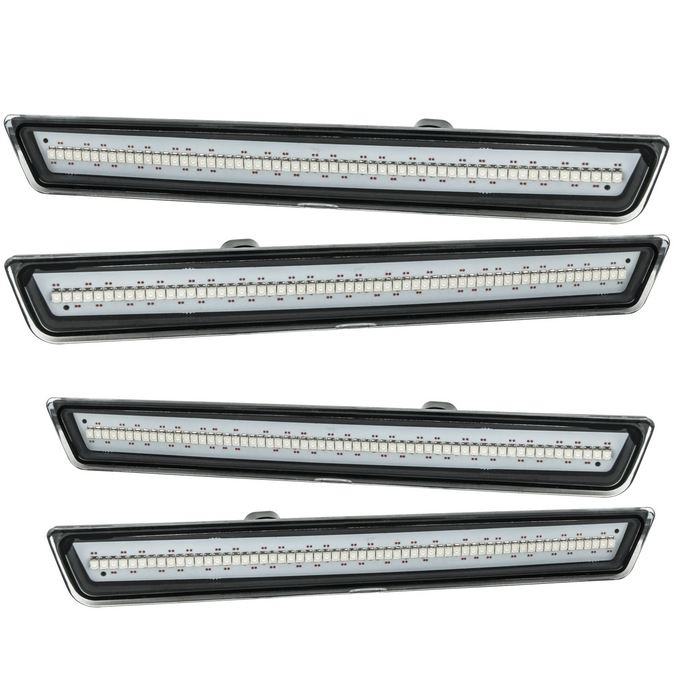 Oracle Lighting 9860-019 2015-2018 Dodge Challenger ORACLE Concept Sidemarker Set - Clear - No Paint
