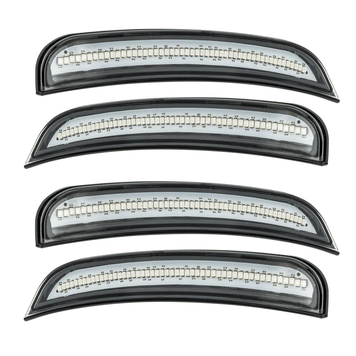Oracle Lighting 9880-019 2015-2018 Dodge Charger ORACLE Concept Sidemarker Set - Clear - No Paint