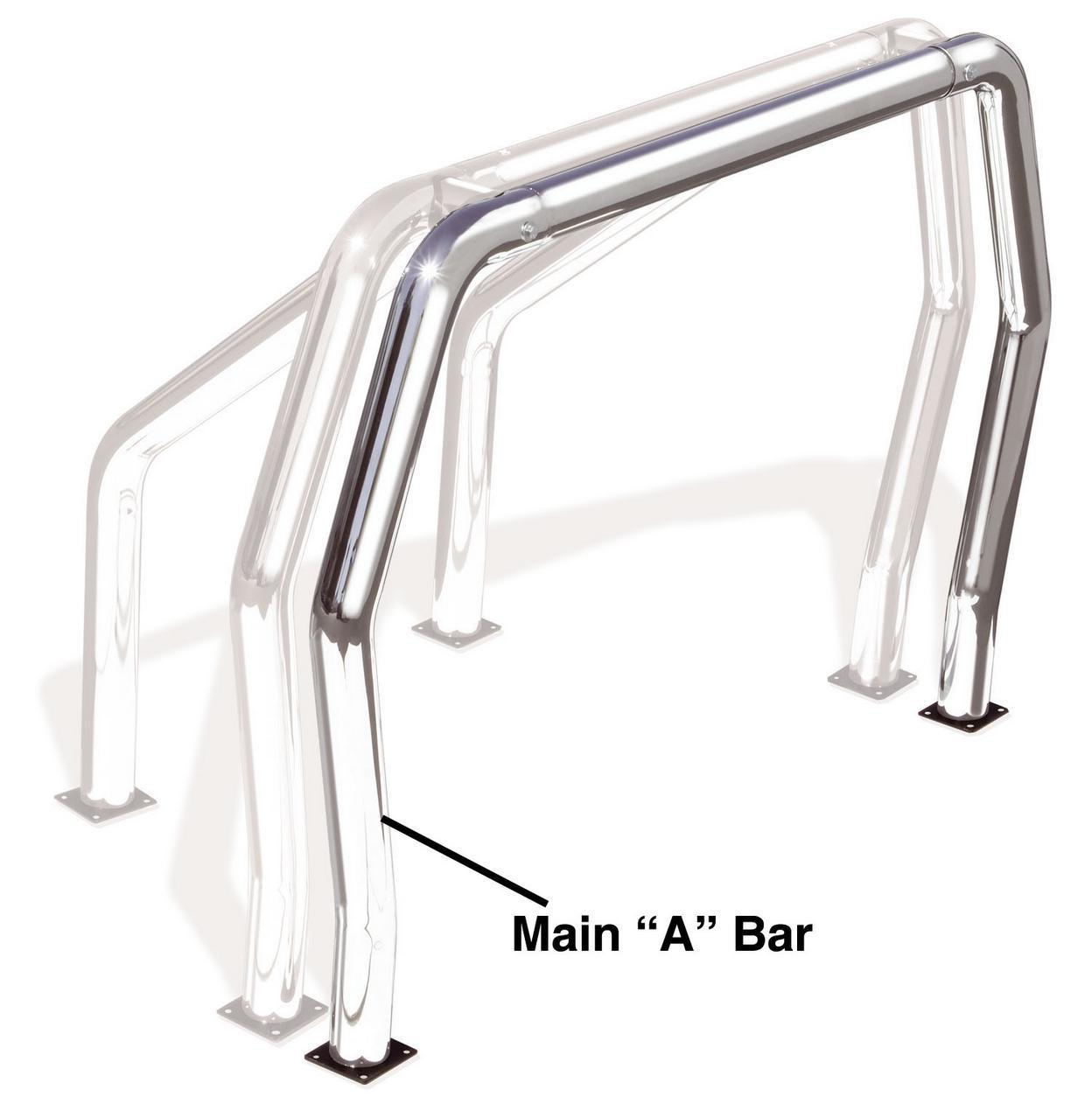 "Go Rhino 95001PS Go Rhino! Bed Bars - ""A"" Additional Bar"