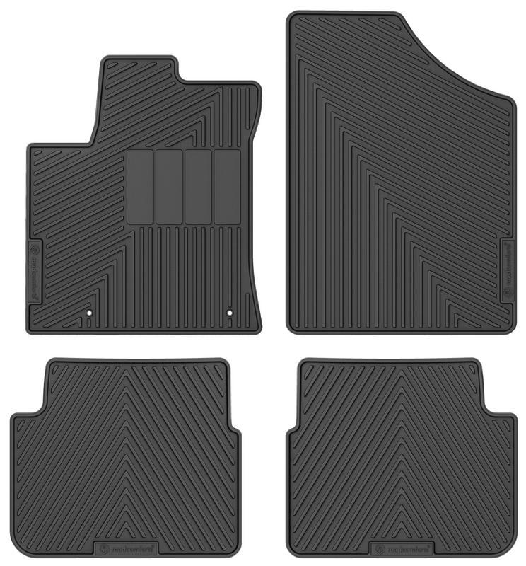First and Second Row Custom Fit Floor Mats