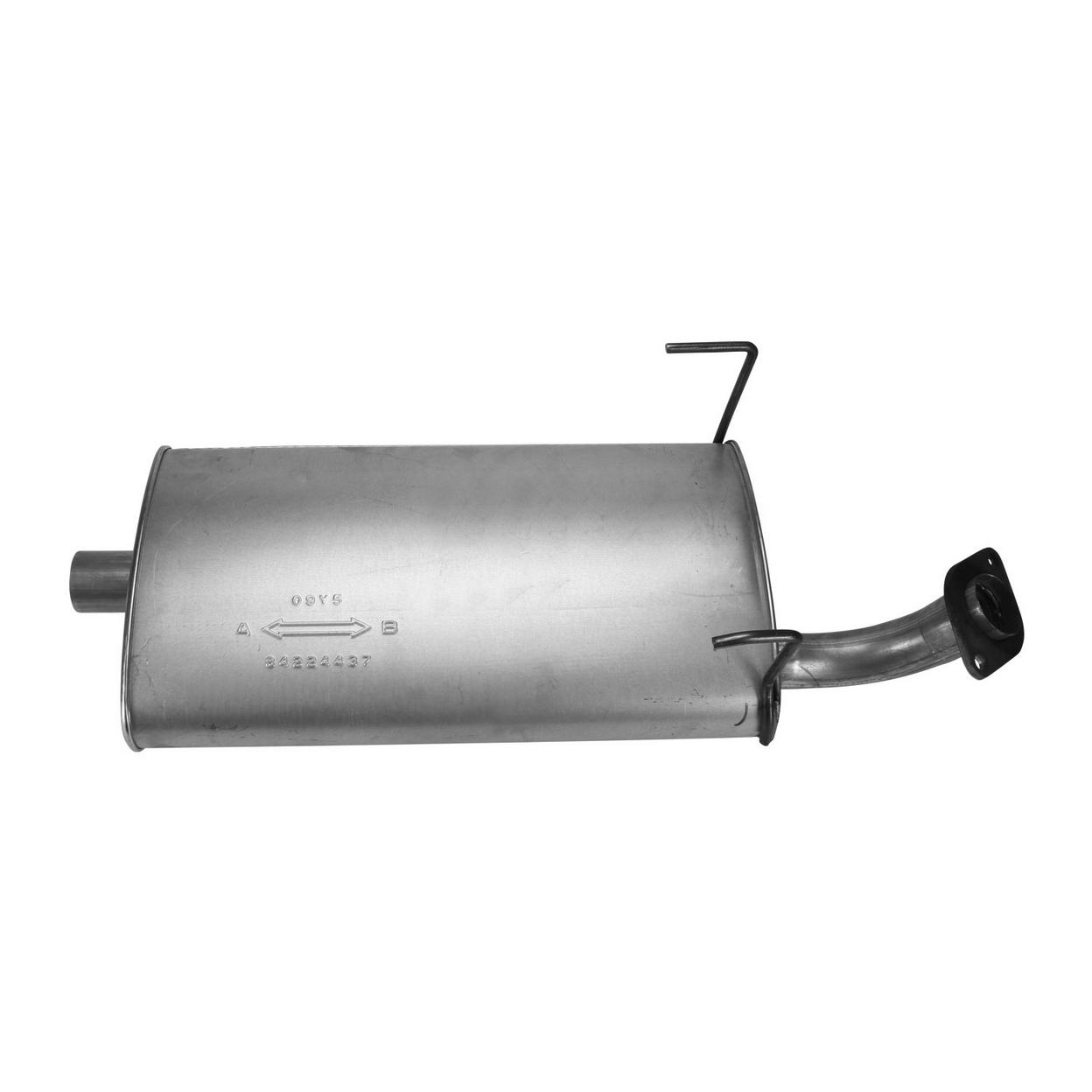 Exhaust Muffler for 1995-1998 Toyota T100 2.7L L4 GAS DOHC