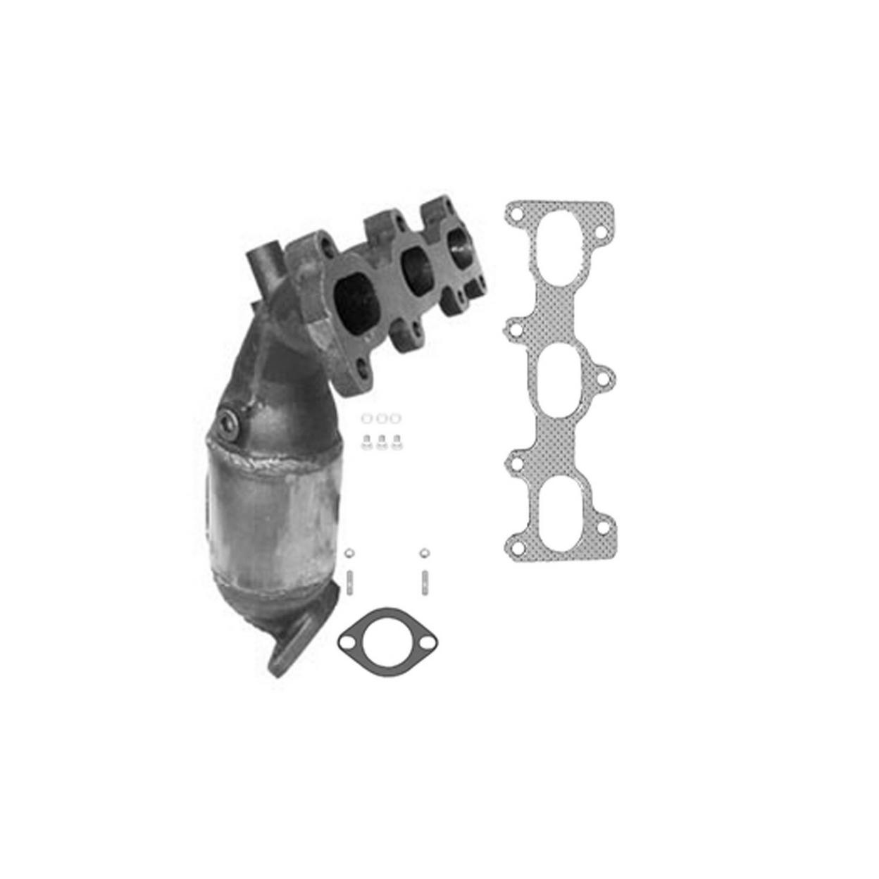Federal / EPA Catalytic Converter - Direct Fit w/ Integrated Manifold