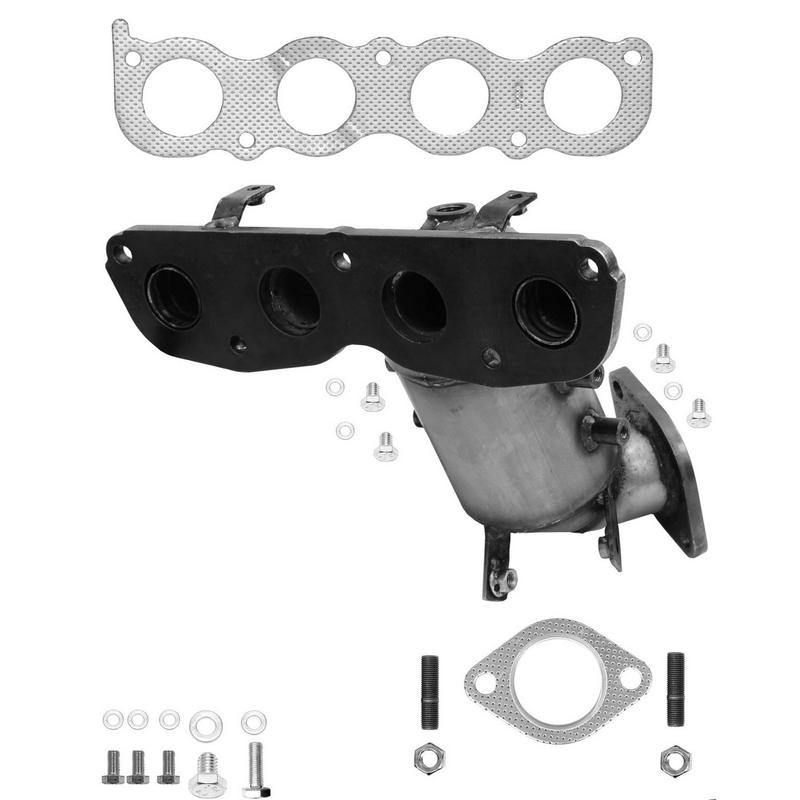 Catco Federal Converters 1442 Federal / EPA Catalytic Converter - Direct Fit w/ Integrated Manifold