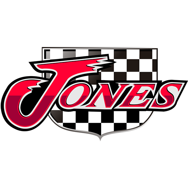 Jones Flow Pack- Turbine and Turbo Mufflers Logo