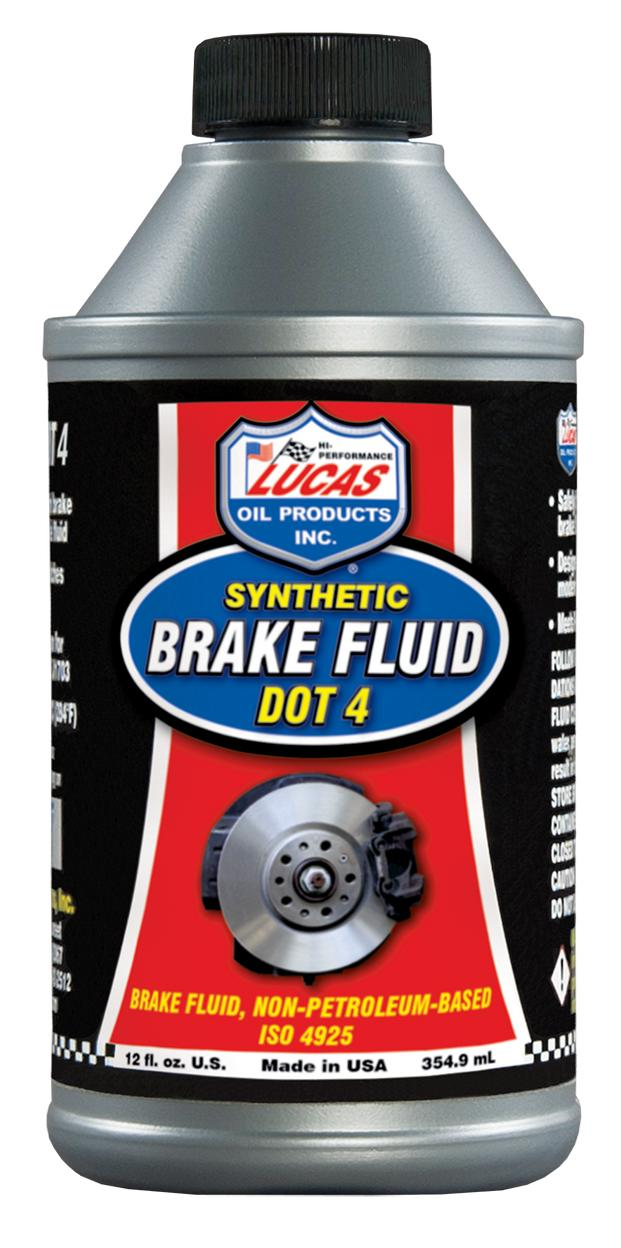 Lucas Oil Products 10827 Lucas DOT 4 Brake Fluid