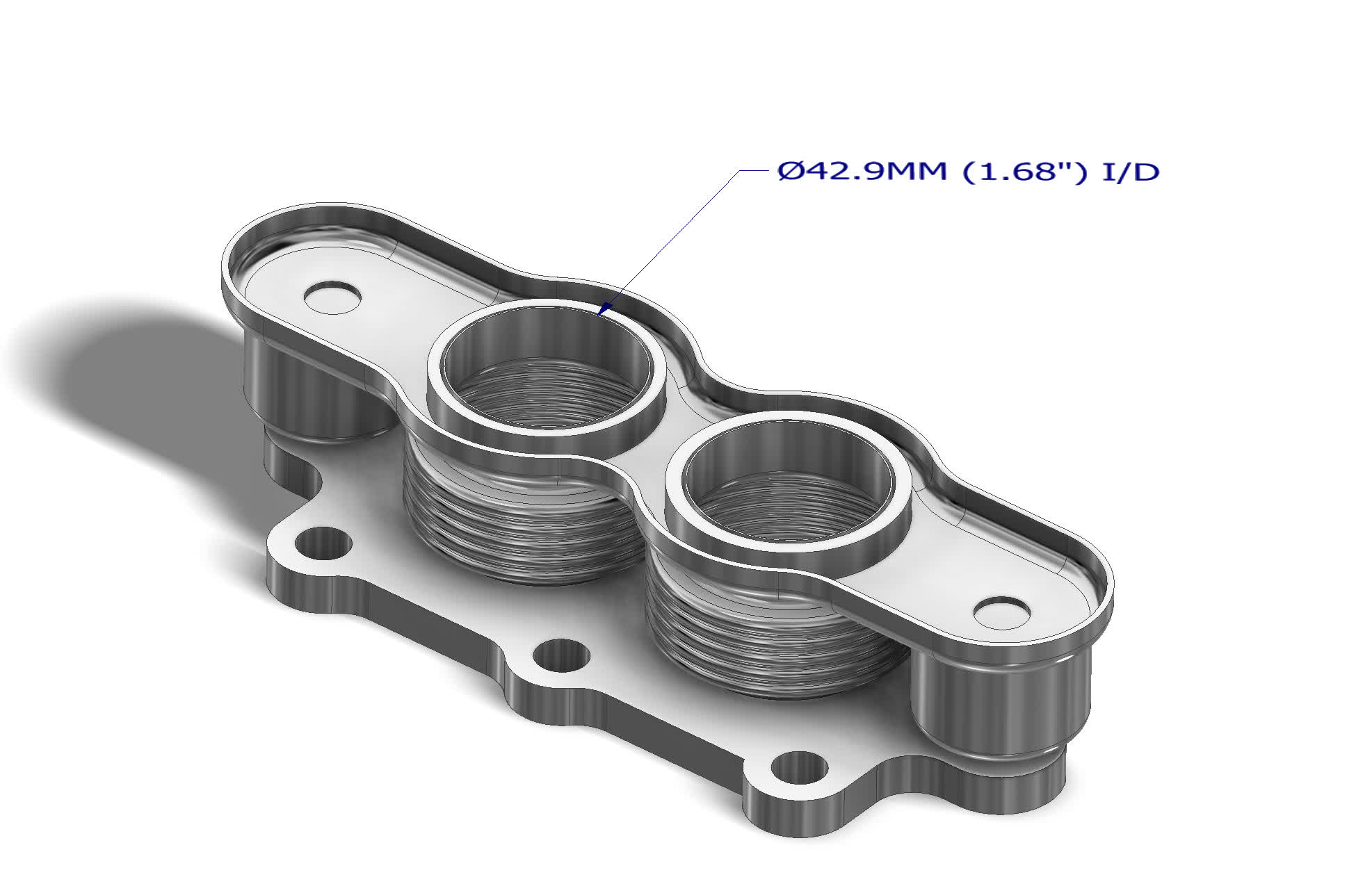 88205005 Flex for Direct-Fit Catalytic Converter