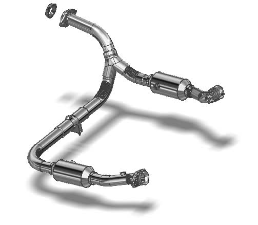 7993404 Gasket for Direct-Fit Catalytic Converter