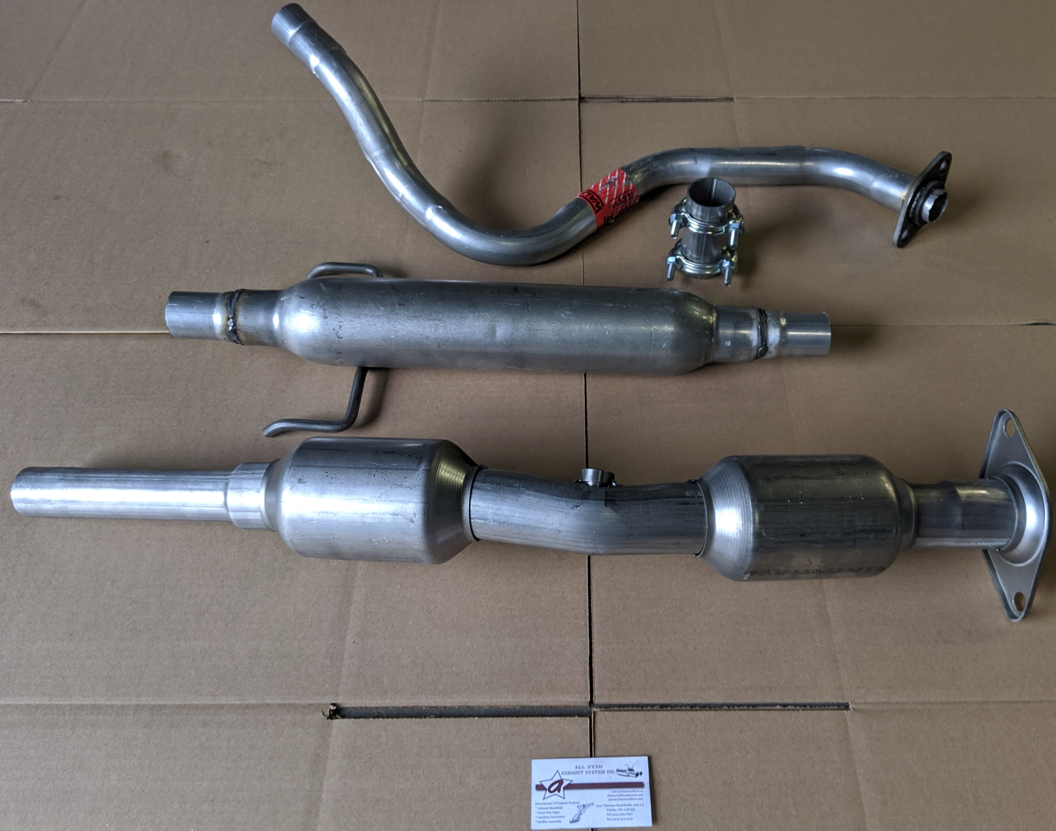 Fits Front P//Side Pipe w//Cat L Series 3.0L Catalytic Converter 00-05 Saturn