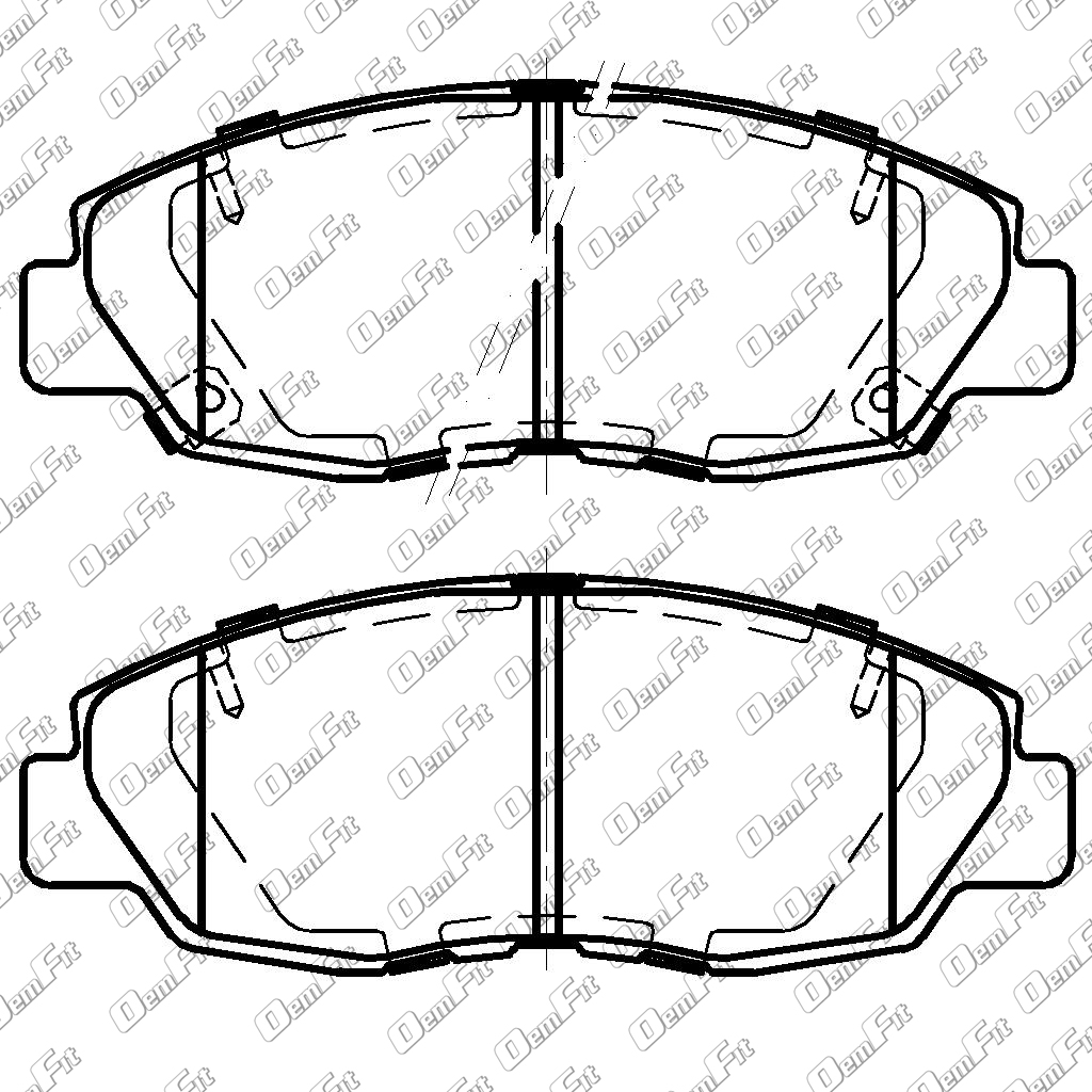 candid auto parts 2008 Chrysler Sebring Battery Replacement oem fit d1578 oem fit brake pads front