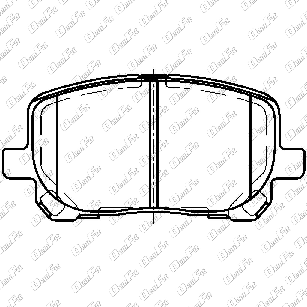 candid auto parts 2015 Honda Accord Frame oem fit d923 oem fit brake pads front
