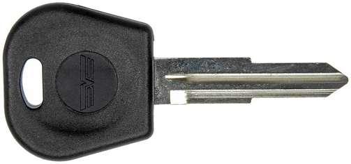 Ignition lock key with transponder