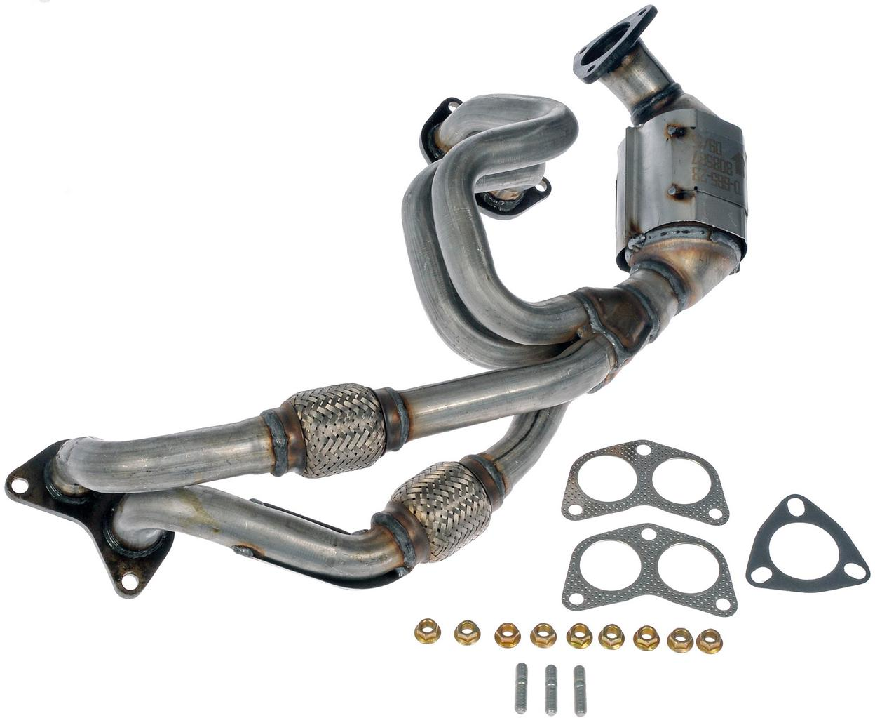 CARB Compliant Dorman 673-930 Exhaust Manifold with Integrated Catalytic Converter
