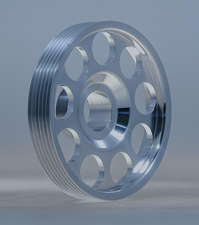 Crankshaft Pulley - Stock Diameter