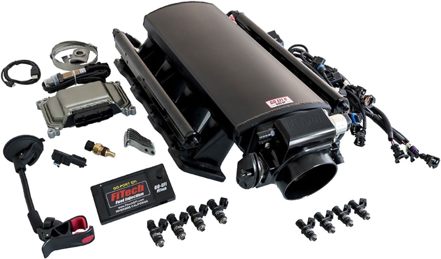 FiTech 70002 Ultimate LS Kit for LS1/LS2/LS6 500 HP EFI with Transmission Control
