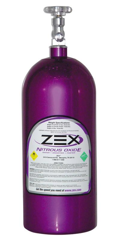 Purple 10 lb Nitrous Oxide Bottle