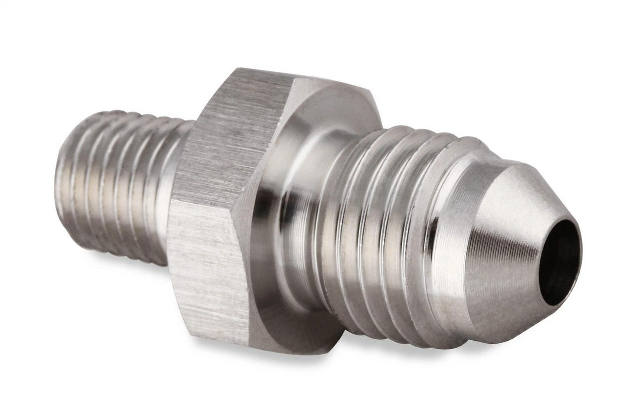 Earl's Performance SS981641ERL Straight Stainless Steel AN to NPT Adapter