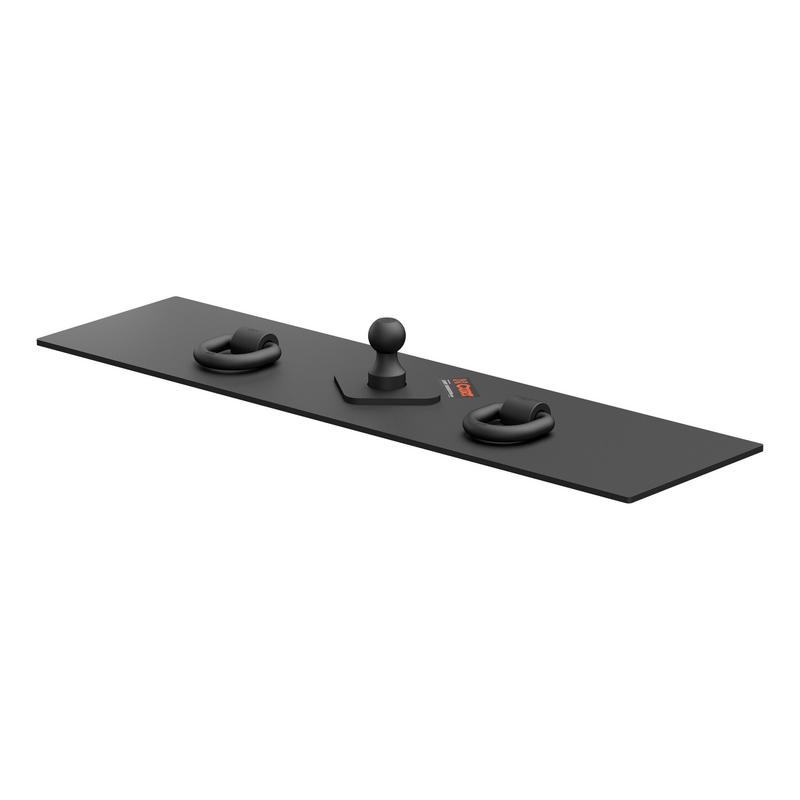 CURT 65500 Over-Bed Flat Plate Gooseneck Hitch