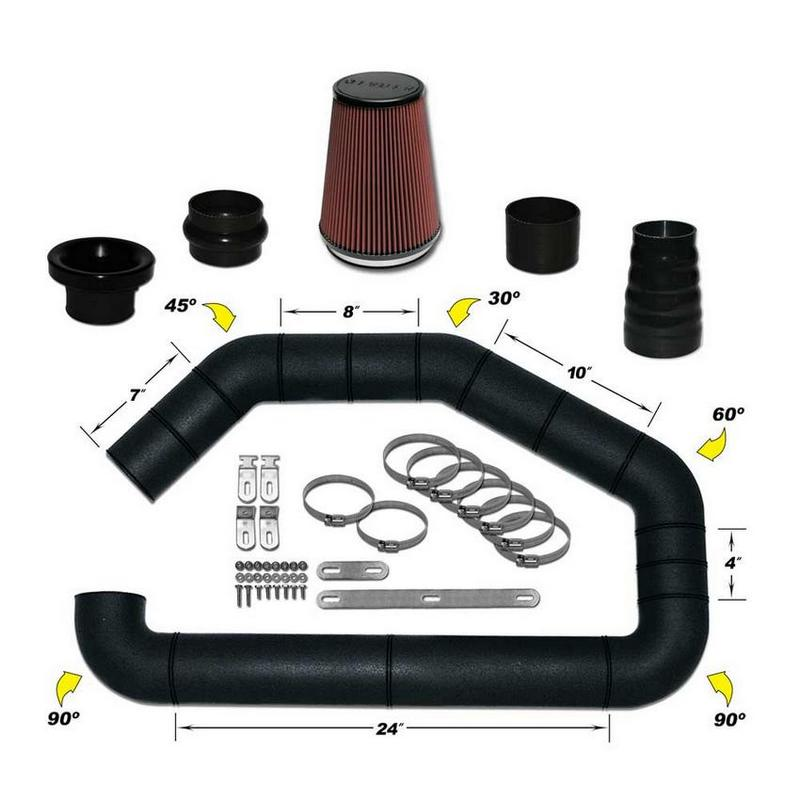 Universal Air Intake Kit