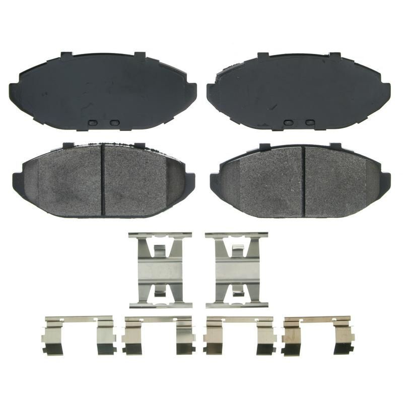 Wagner Brake ZX748 QuickStop Semi-Metallic Disc Brake Pad Set