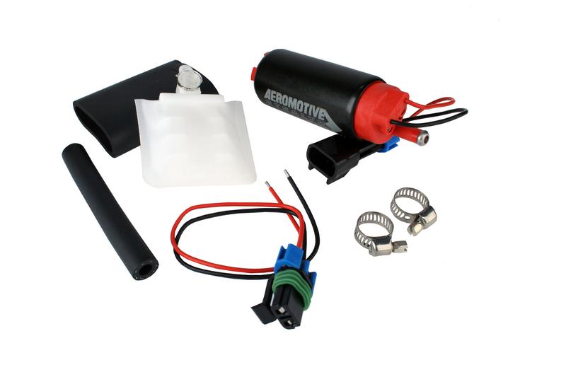 340 Series Stealth In-Tank Fuel Pump, offset inlet