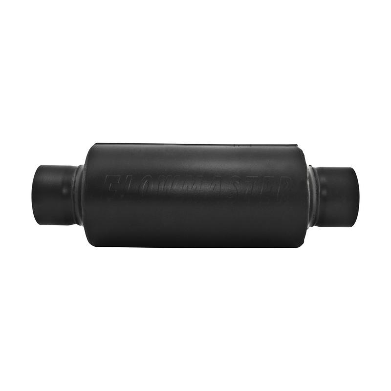 Pro Series Shorty Muffler - 3.50 Center In / 3.50 Center Out - Moderate Sound