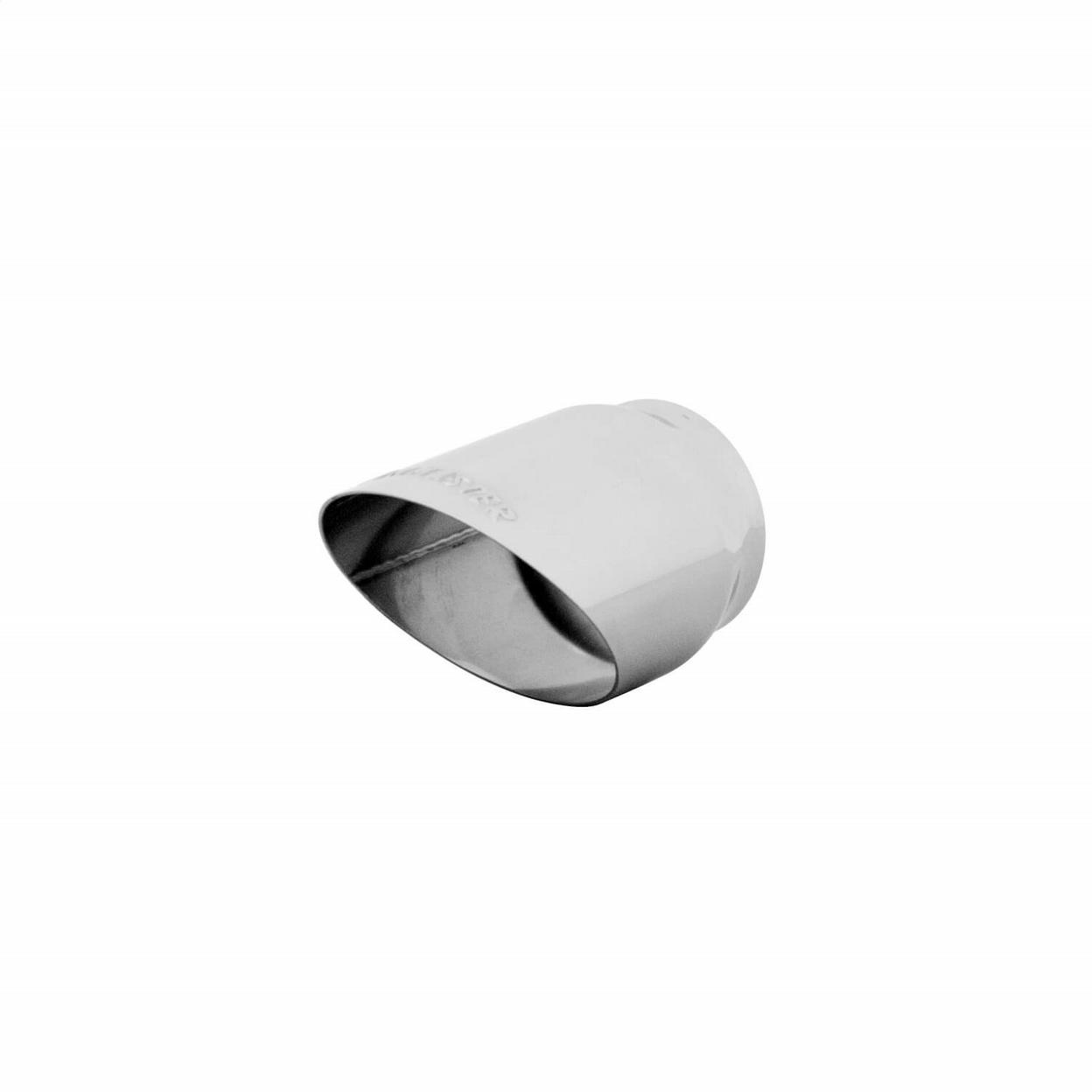 Exhaust Tip - 2.50 in. Polished Angle Cut