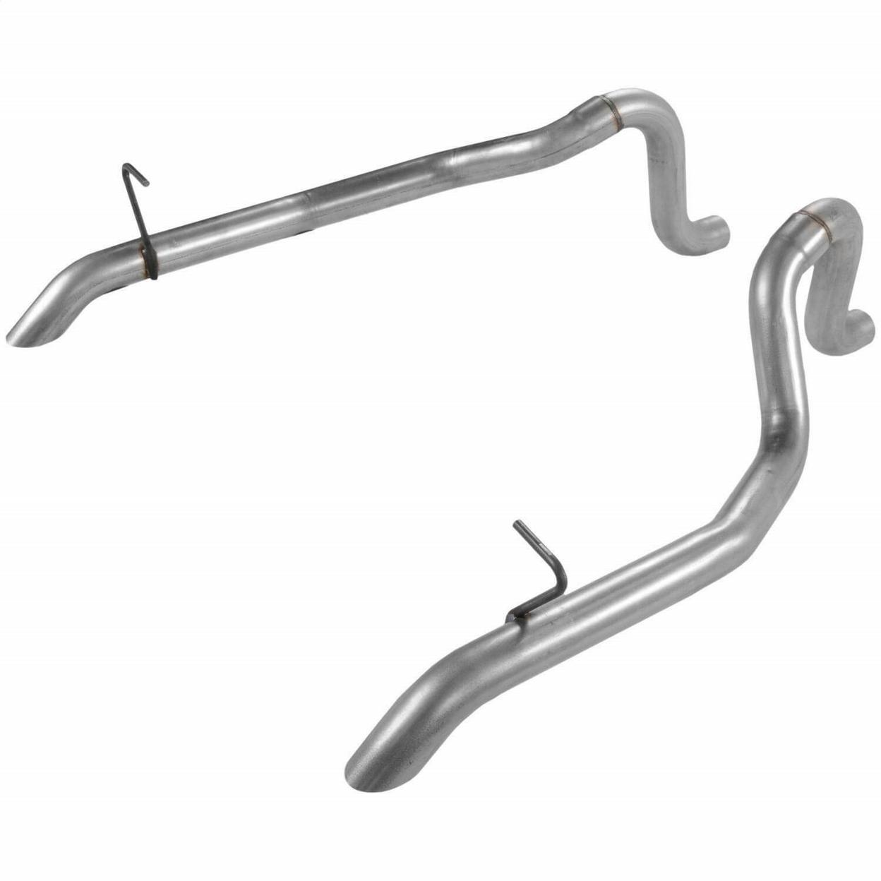Pair Rear Exit Flowmaster 15818 Prebend Tailpipes 3.00 in