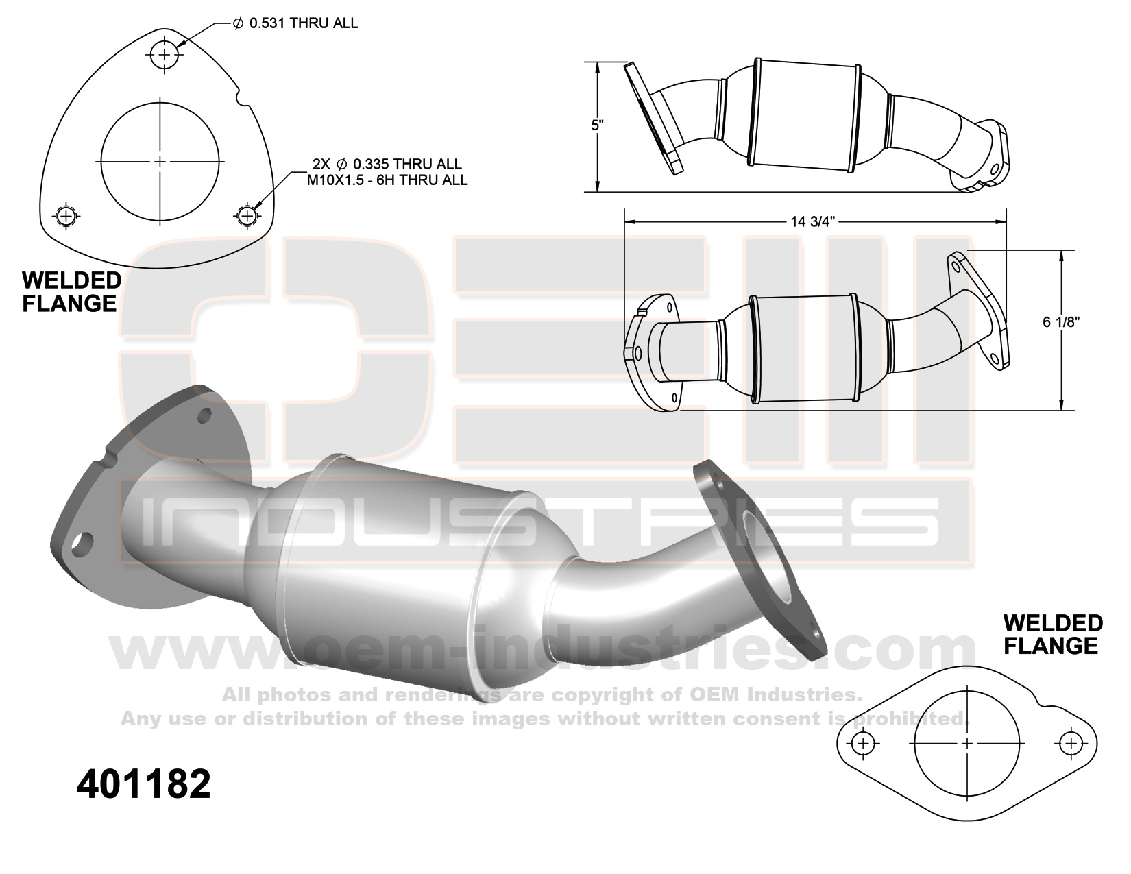 401182 Catalytic Converter
