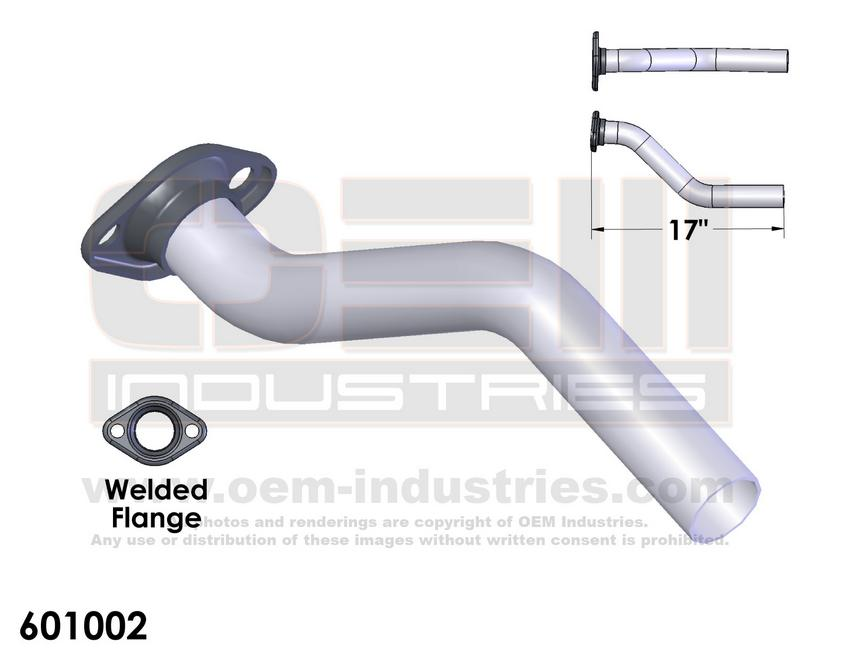 601002 Exhaust Pipe