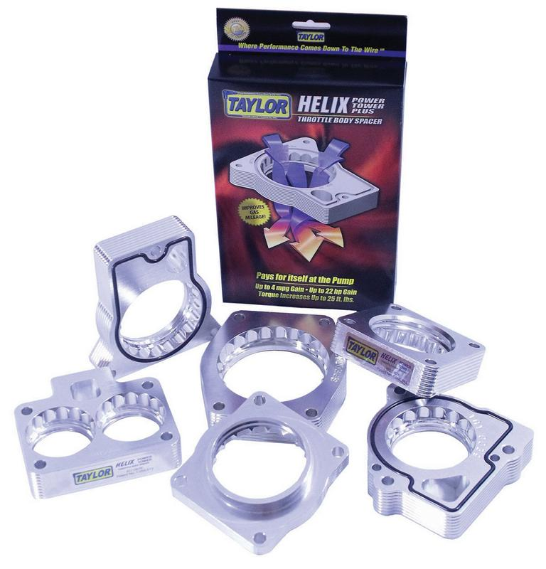 Taylor Billet Specialties 97305 Helix Throttle Body Spacer