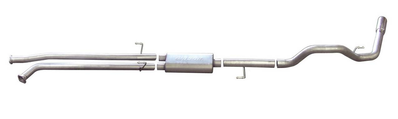 Cat-Back Single Exhaust System, Aluminized