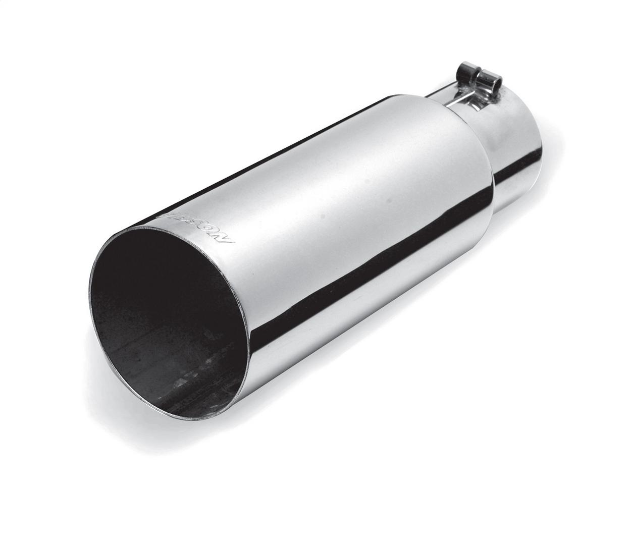 Gibson Performance Exhaust 500350 Stainless Single Wall Straight Exhaust Tip