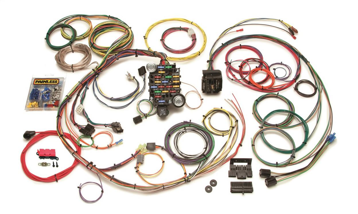 Classic-Plus Customizable 1967-68 Camaro/Firebird Harness-24 Circuits