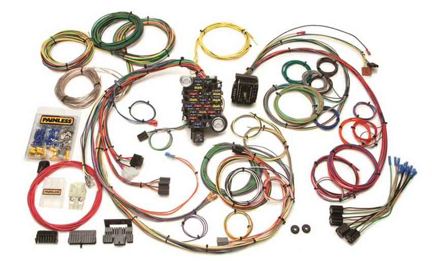 Classic-Plus Customizable 1969-74 GM Muscle Car Chassis Harness-25 Circuits
