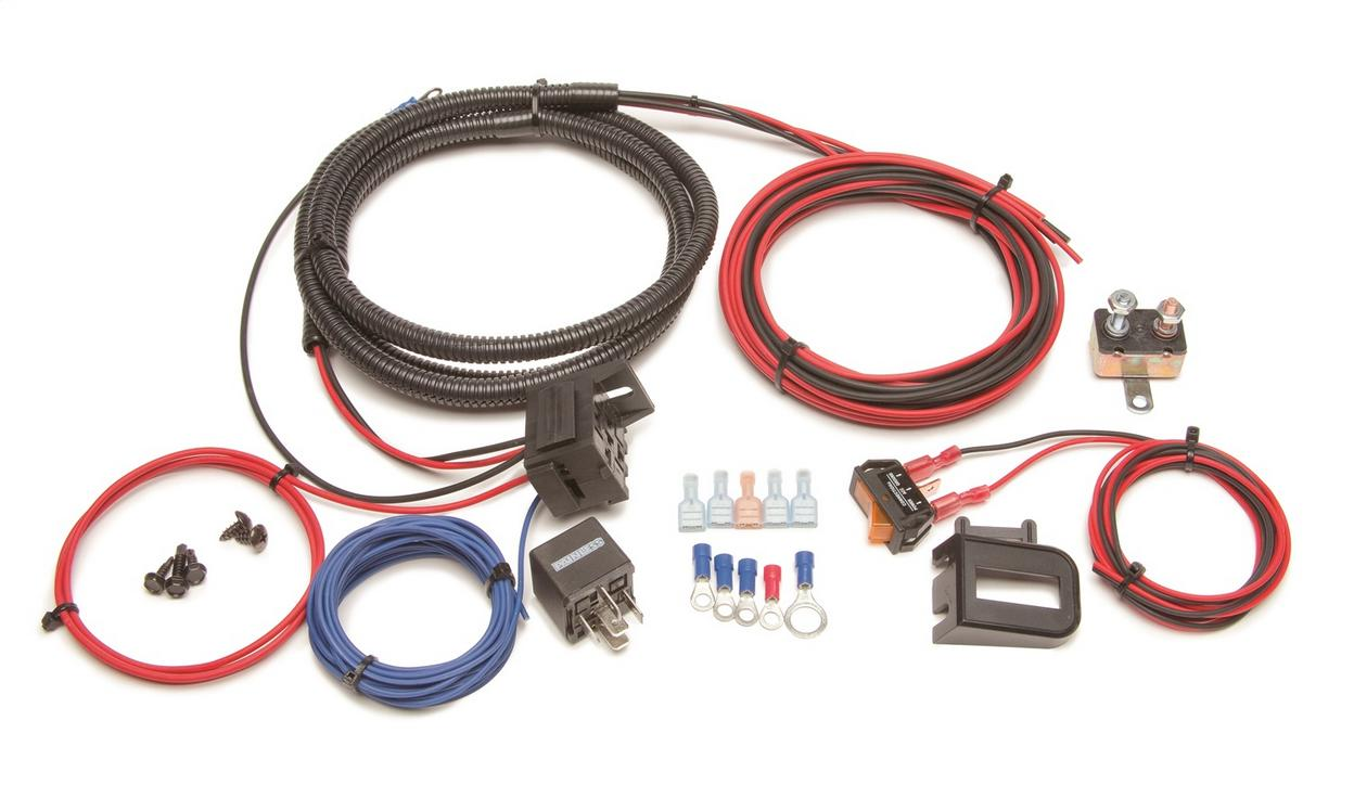 Auxiliary Light Relay Kit w/Switch