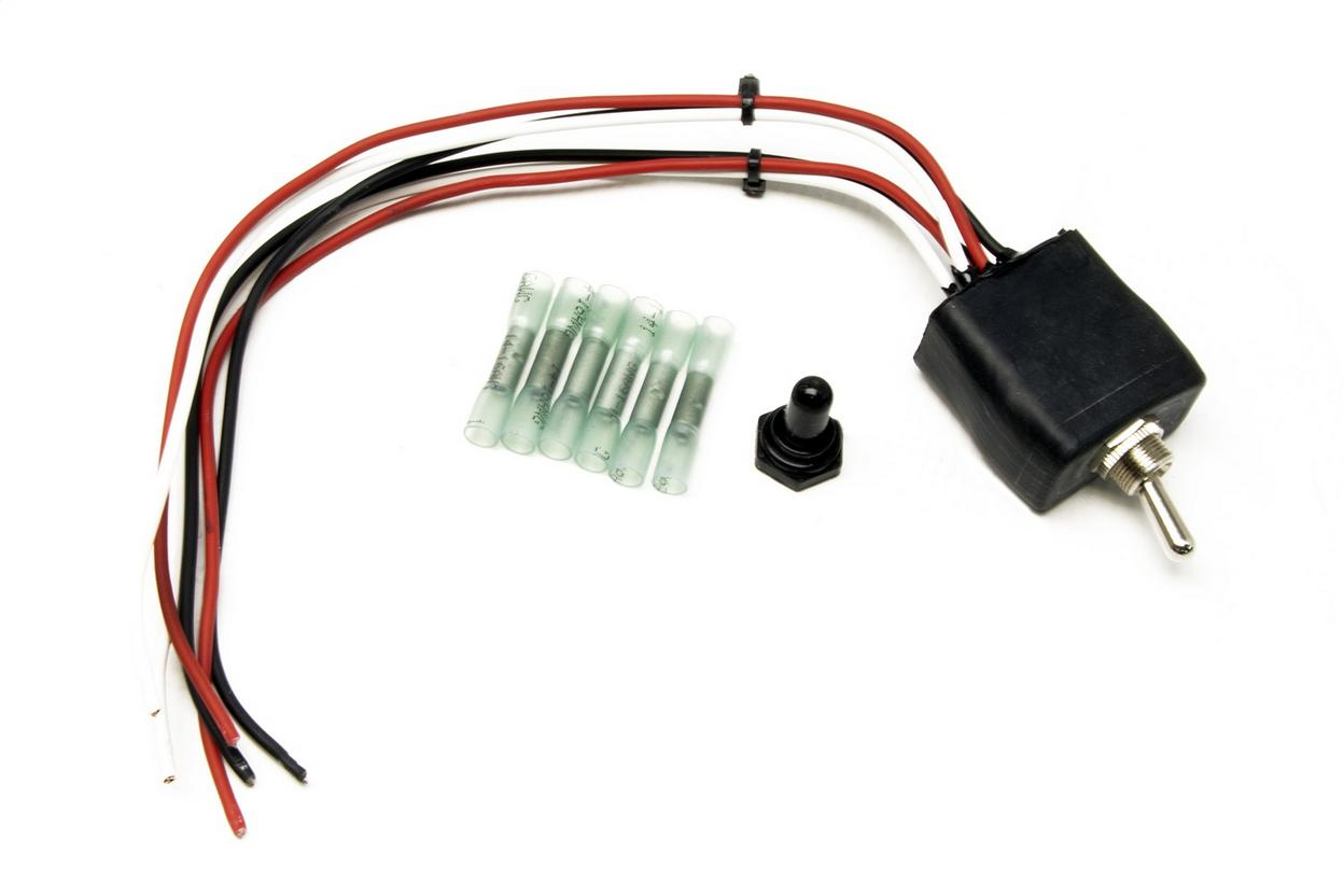 Painless Wiring 80534 Waterproof Toggle Switch-On/Off/On; Double Pole; 20 Amp w/boot/conn.