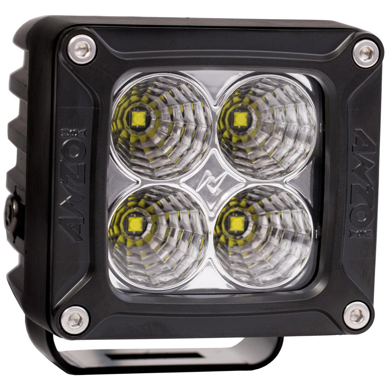 ANZO USA 881052 Rugged Vision Off Road LED Flood Light