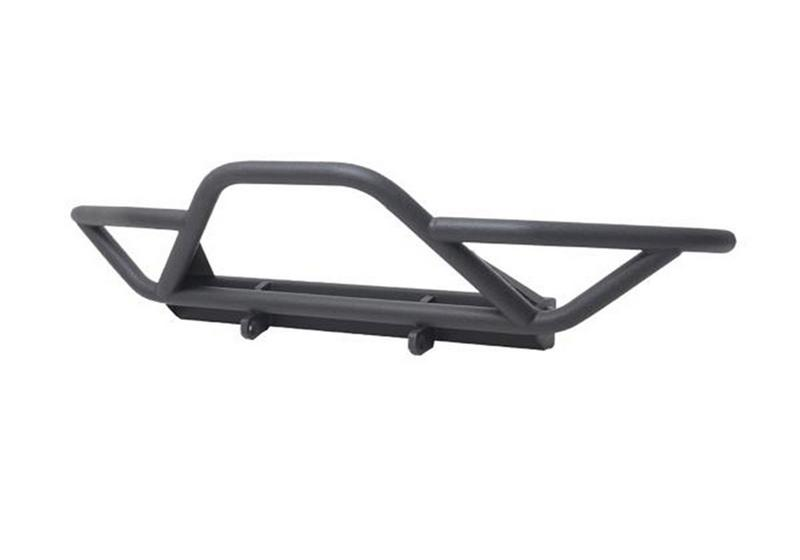 N-Fab Y8776721 Bumpers/Jeep Gear; RWB Front Winch Bumper; Textured Black
